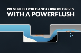Prevent blocked and corroded pipes with a powerflush