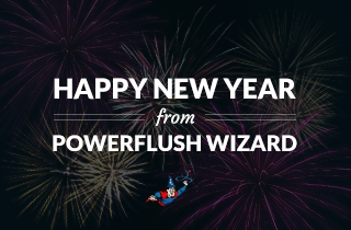 Happy New Year from Power Flush Wizard