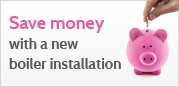 Save money with a new boiler instalation